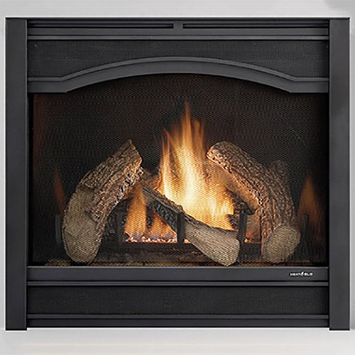 A zero clearance gas fireplace is designed so it can be placed in contact with combustible materials such as paneling. This means you can place it in a smaller opening, but makes keeping up on maintenance even more important.